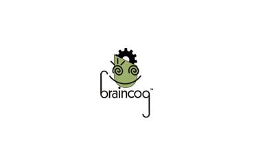 Brain Cog Logo